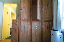 Mix dormitory  ロッカー