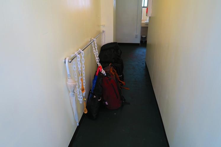 荷物置き場