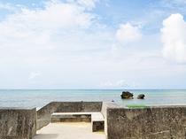 【シルバマ(白浜)ビーチ】宿から海へは徒歩30秒以内です♪広いビーチを独り占め♪