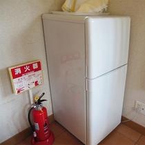 *施設一例/持ち込み自由!館内の共有冷蔵庫をご利用ください。