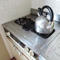 *一棟貸し客室一例/キッチン完備で自由に滞在できるお部屋タイプ。