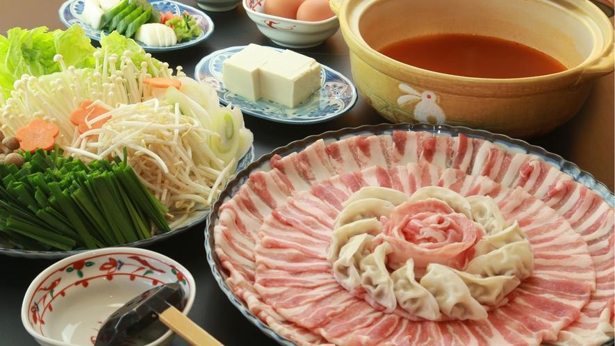 キムチ鍋 (4)