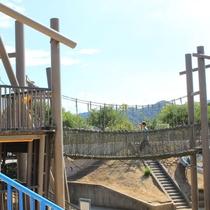 【鳴門ウチノ海総合公園】お子様が楽しめる遊具広場もあり、家族連れで気軽に遊べる公園。