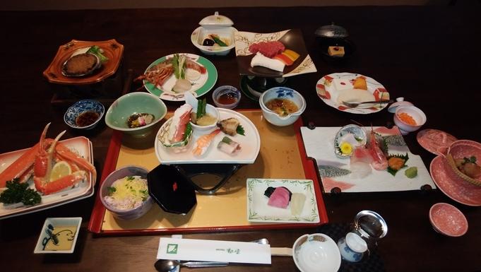 基本客室(標準客室)and 豪華料理(上級料理)コース