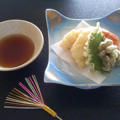 海老蟹重点コース料理一例