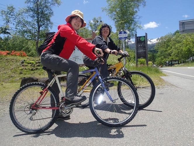 お気軽サイクリングへGO!