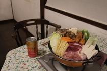 鴨肉とキノコのあったかお鍋