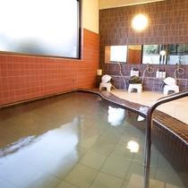 *[2階浴室]天然温泉100%を源泉掛け流しで!