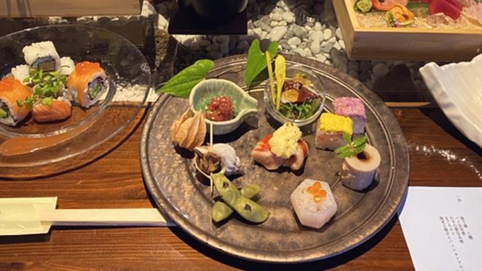 【2食付】関西在住なら追加特典!厳選した海鮮やお造り、奈良ブランド大和肉鶏など「旬魚酒菜 宵コース」