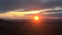 ・【客室】お部屋からの眺め。奈良大和の朝焼けを独り占め♪