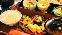 ・【朝食】奈良大和の食材を贅沢に使用した和定食!