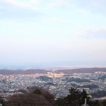 【客室】お部屋からの眺め。奈良大和の景色を望めます♪