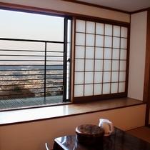 【客室】奈良大和の景色を望む♪スタンダード和室(12畳+踏込/30平米)