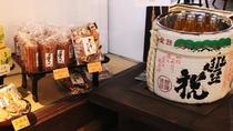 ・【館内】奈良のおすすめお菓子がございます。