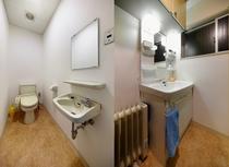 トイレと洗面