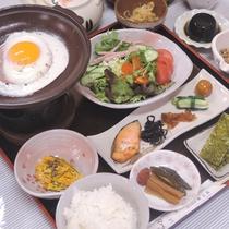 *【朝食一例】朝は和定食をご用意