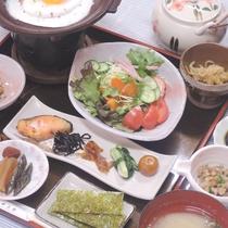 *【朝食一例】しっかり食べて元気よく1日をスタート