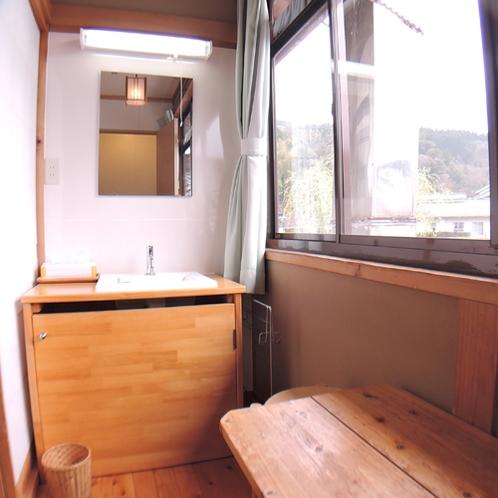 *【本館和室一例】広縁に洗面台を完備