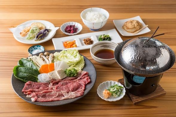 【夕食付】1人旅、2人旅にお勧め♪ 近江牛しゃぶしゃぶを楽しむプラン