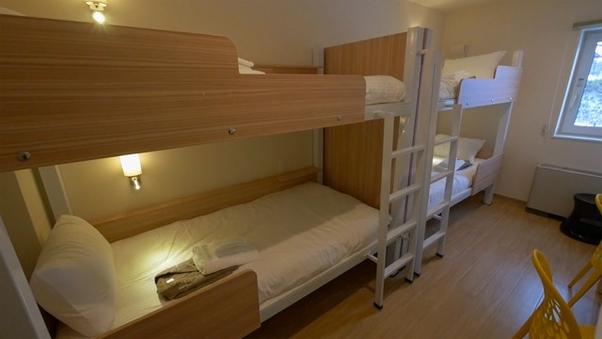 クワッドルーム(4人部屋)