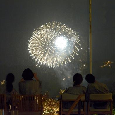 【イベント】10月31日限定!一夜限りの強羅打ち上げ花火をパノラマロビーでゆったり観賞!