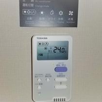 客室エアコン リモコン