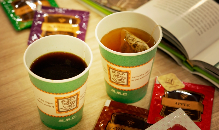 ■JRインラウンジ■ 無料コーヒー・紅茶をご用意