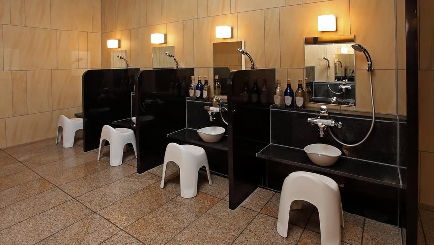 ■大浴場 洗い場■