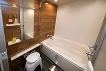 バスルーム(浴槽付はプレミアツインルームのみ)