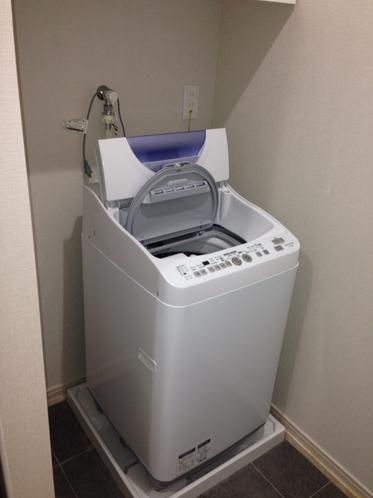 室内設置洗濯機