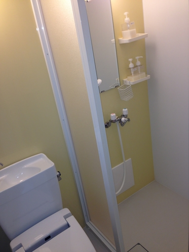 洗浄機付きトイレ シャワールーム