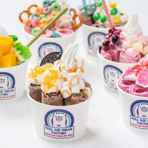 OPA開業!「ロールアイスクリームファクトリー」沖縄エリア初出店!日本初のロールアイス専門店。