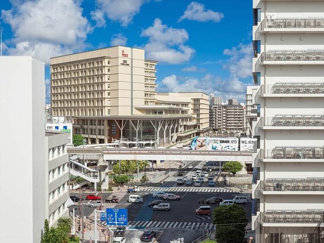プレミア館 高層階からの眺め
