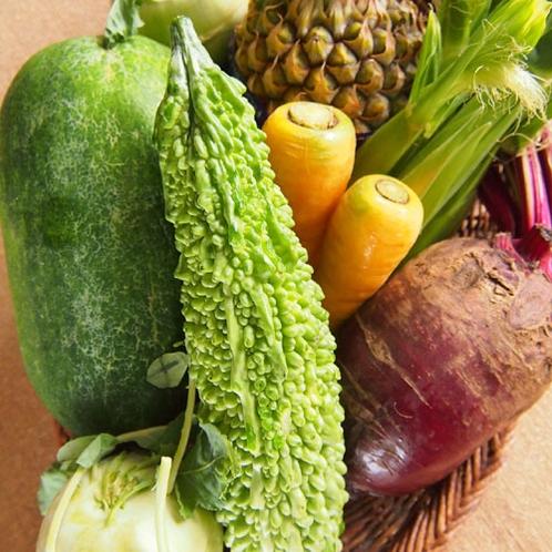 沖縄の元気な島野菜たち