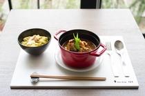 シチュードポーク 和風仕立て 9sense dining(ランチ)