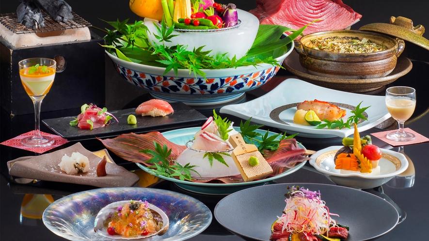 【和食】お料理の一例。(写真はイメージです)