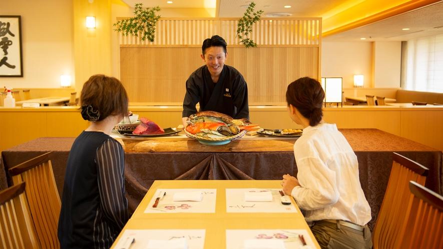 和食【さざんか】季節の食材、地元の味覚にこだわった日本料理をご用意いたします。
