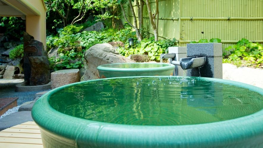 【瑞穂の湯】遠赤外線効果でじっくり温まる陶器風呂!