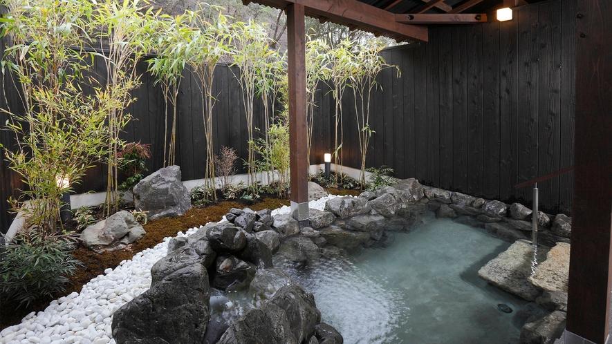 【延羽の湯 野天 閑雅山荘】家族風呂・竜胆
