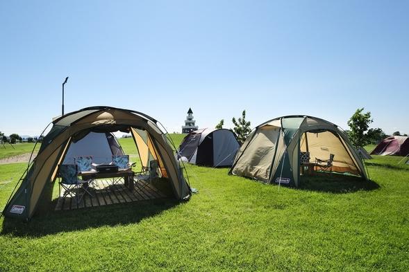 湖畔で手ぶらキャンプ夕食BBQ朝食付宿泊プラン