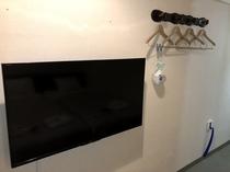 トリプルルーム 壁掛けテレビ