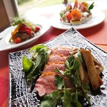 秋のメイン肉料理一例