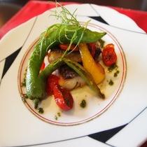 秋のメイン魚料理一例