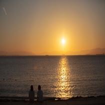 落ち着いた時間が流れる三浦海岸