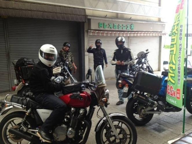 バイク&自転車駐輪無料!!