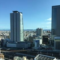 23階スーペリアルーム(昼景) 名古屋駅方面の眺望