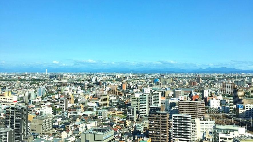 高層階スーペリアフロア 岐阜市方面眺望