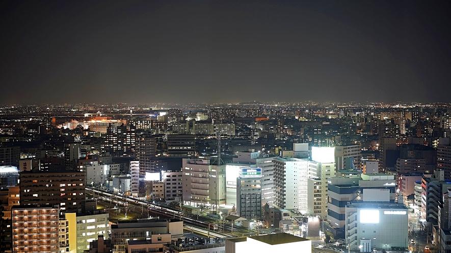 高層階スーペリアフロア 北側からの夜景
