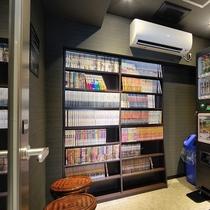 8階漫画コーナー