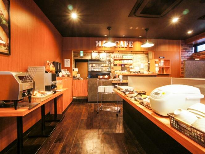 <無料朝食実施中>朝食はビュッフェ形式でのご提供となります。